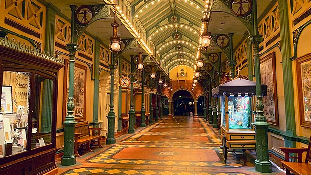 attraction discovery arcade parc disneyland paris