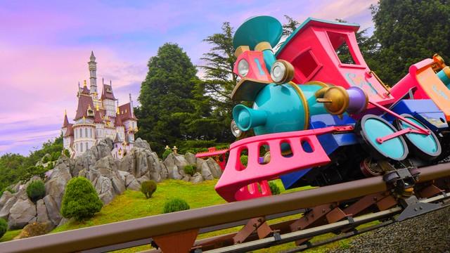 attraction parc disneyland paris casey le petit train du cirque