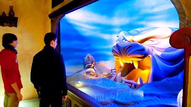 attraction aladdin le passage enchanté d'aladdin attraction à disneyland paris