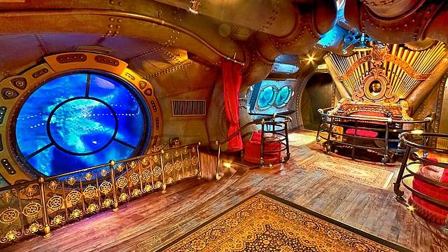attraction disney attraction les mystères de nautilus