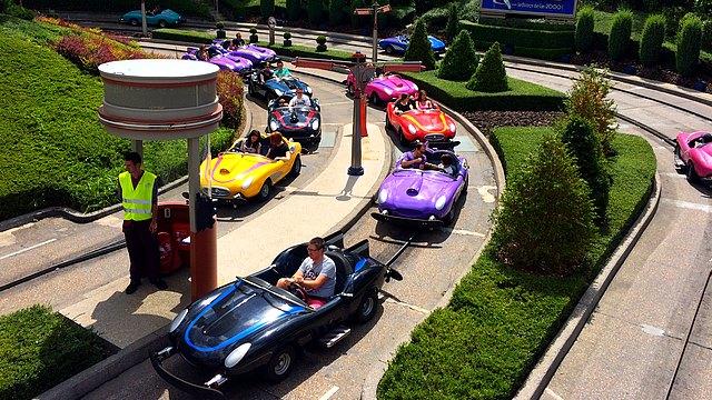attraction disneyland paris attraction autopia