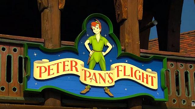 attraction peter pan attraction disneyland paris