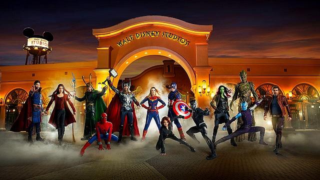 le quartier général des avengers disneyland paris