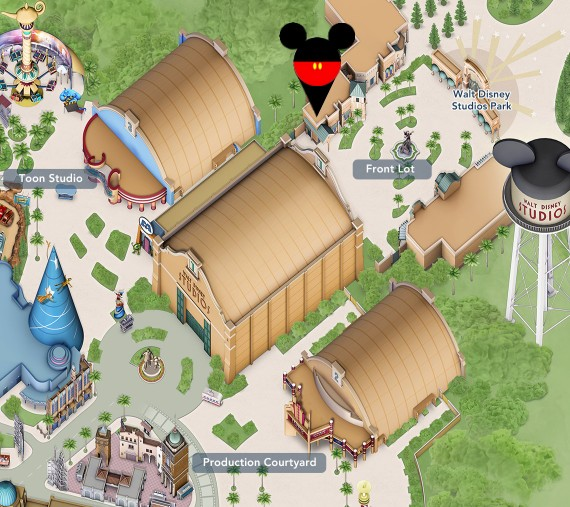 location de poussettes dans le parc walt disney studios a disneyland paris