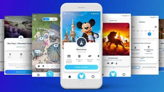 telecharger application disneyland paris temps attente