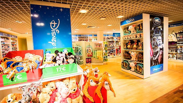 boutique disney store france galeries lafayette bordeaux