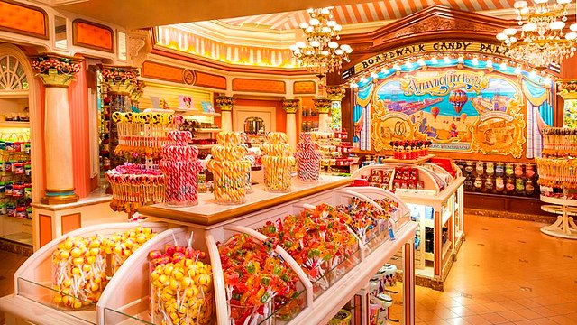 boutique disneyland paris boutique boardwalk candy palace boutique disney