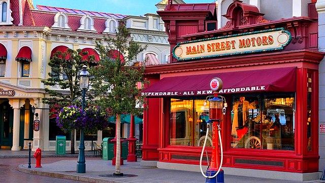 boutique disneyland paris boutique main street motors boutique disney