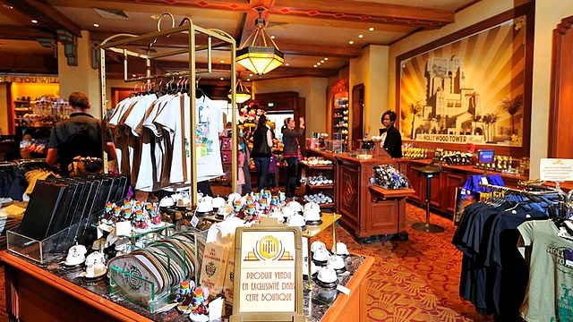 boutique disneyland paris boutique walt disney studios boutique tower hotel gifts