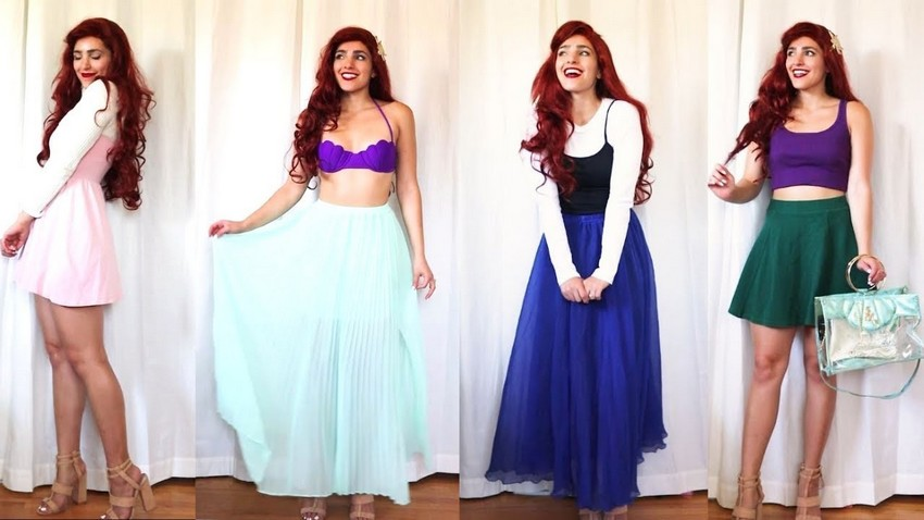 disneybound ariel cosplay disney