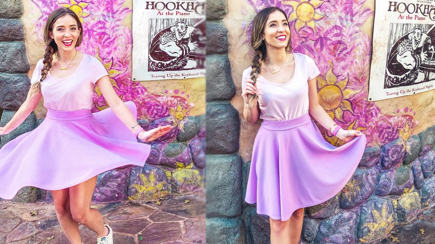 disneybound raiponce cosplay disney