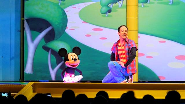 spectacle disneyland paris spectacle disney junior en stage