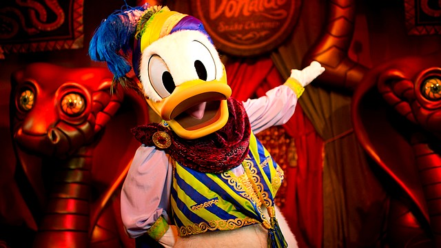rencontre donald duck disneyland paris