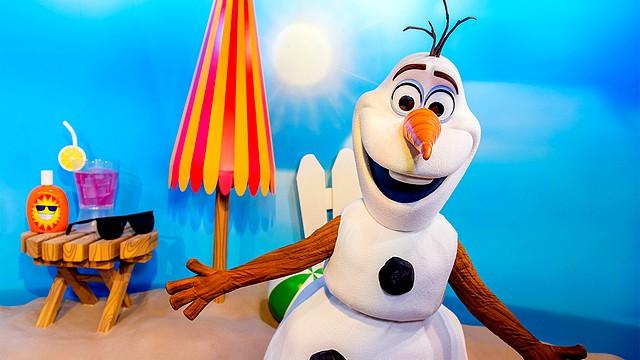 rencontre olaf bonhomme de neige disneyland paris