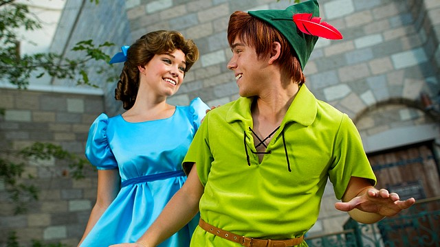 rencontre peter pan disneyland paris