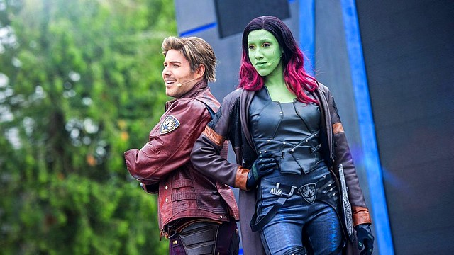 rencontre star-lord et gamora Disneyland Paris