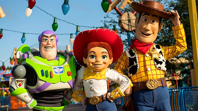 rencontre toy story buzz disneyland paris