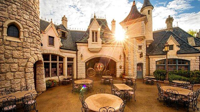 restaurant disneyland paris restaurant l'auberge de cendrillon