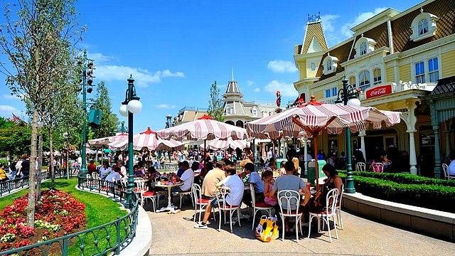 restaurant disneyland paris restaurant casey's corner