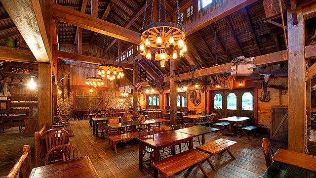 restaurant disneyland paris restaurant cowboy cookout barbecue