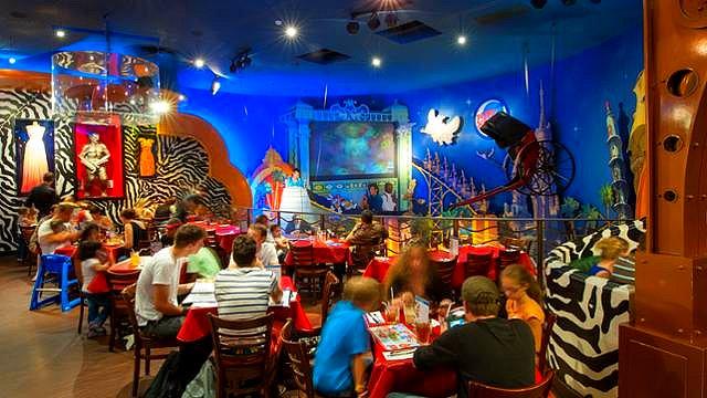 restaurant disneyland paris restaurant disney village restaurant planet hollywood