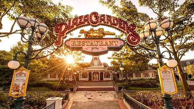 restaurant disneyland paris restaurant plaza gardens