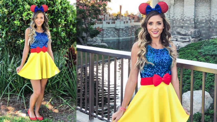 disneybound blanche neige disney