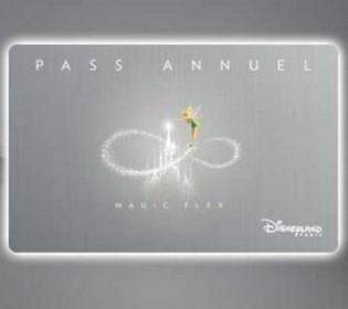 pass annuel magic flex + photopass+