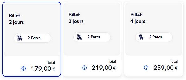 acheter un billet d'entrée pour disneyland paris