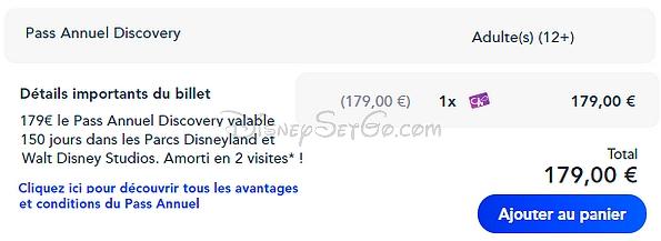 acheter des pass annuels à disneyland paris