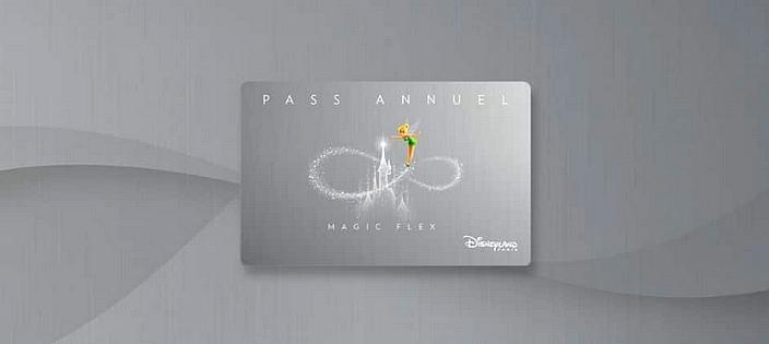 pass annuel magic flex disneyland paris
