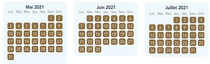 calendrier pass annuel magic plus pour disneyland paris 3