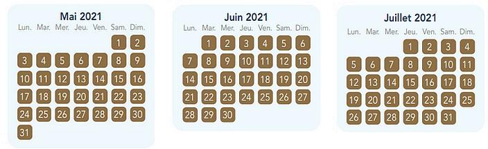 calendrier pass annuel magic plus pour disneyland paris 3