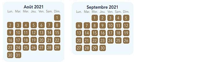 calendrier pass annuel magic plus pour disneyland paris 4