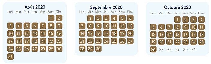 calendrier pass annuel magic plus pour disneyland paris
