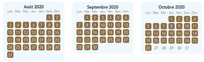 calendrier pass annuel magic plus pour disneyland paris