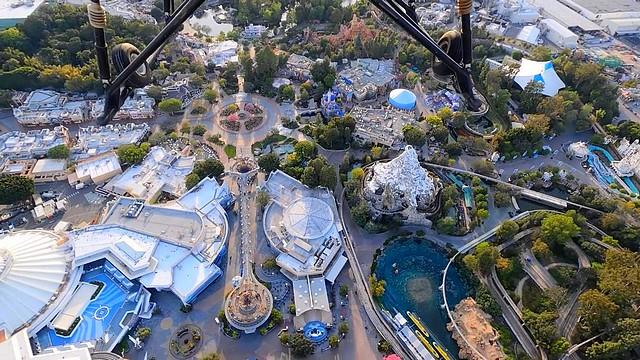 disneyland resort vue ciel disney dans le monde