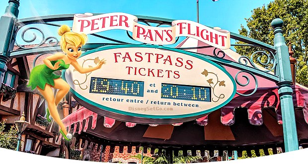 pass annuel avec fastpass à disneyland paris