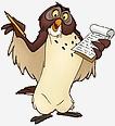 winnie l'ourson hibou
