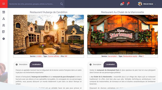 guide disneyland paris restaurant