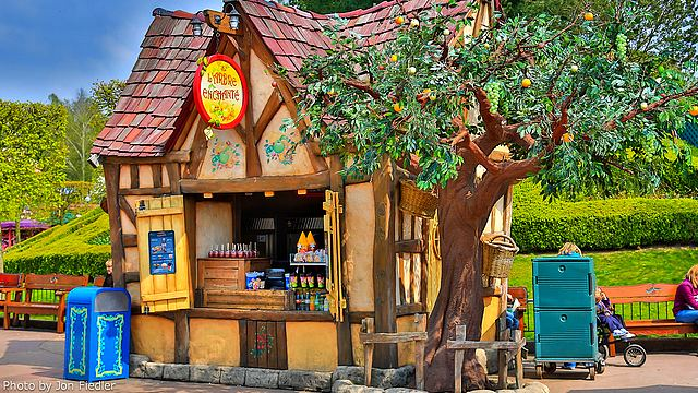restaurant disneyland restaurant l'arbre enchanté