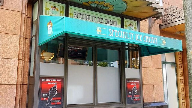 restaurant walt disney studios restaurant speciality ice cream