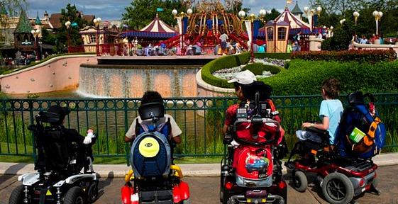 standby pass handicapés et carte verte à disneyland paris