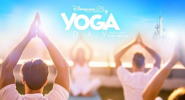 yoga day disneyland paris