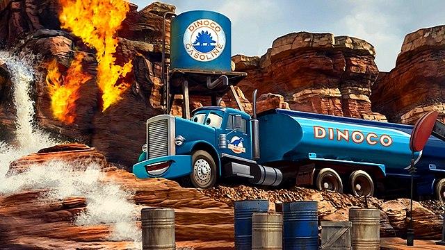 Attraction Cars Route 66 du parc Walt Disney Studios