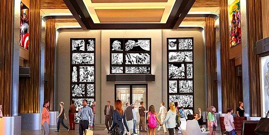 Hôtel Marvel Disney