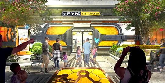 Le restaurant Pym teste Kitchen dans le Avengers Campus de Disneyland Paris