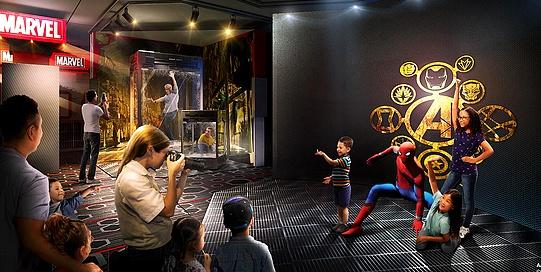 Super Hero Station à l'hotel Disney Marvel